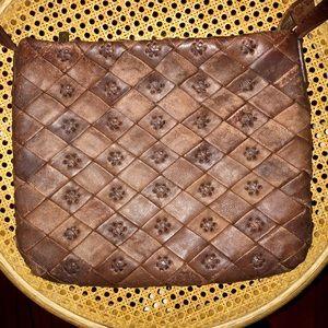 Hobo International brown leather crossbody bag